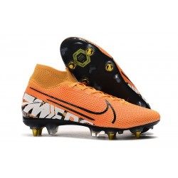 Nike Mercurial Superfly VII Elite SG-PRO AC Orange White