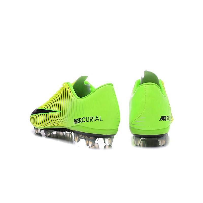042bc62485e New Nike Mercurial Vapor XI FG Men Soccer Cleat Green Black