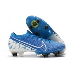 Nike Mercurial Vapor XIII Elite SG Pro AC - New Lights Blue White