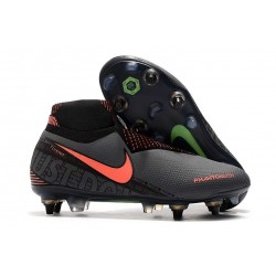 Nike Phantom Vision Elite DF SG-Pro AC Dark Grey Bright Mango