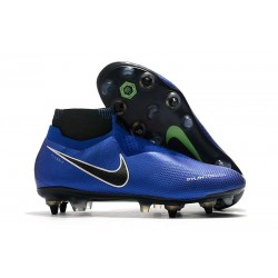 Nike Phantom Vision Elite DF SG-Pro AC Racer Blue Black Metallic Silver