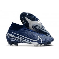 Nike Mercurial Superfly VII Elite FG Blue White