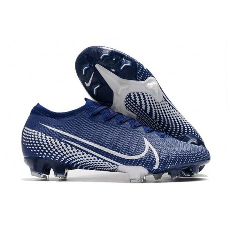 Nike Mercurial Vapor 13 Elite FG Cleats Blue White