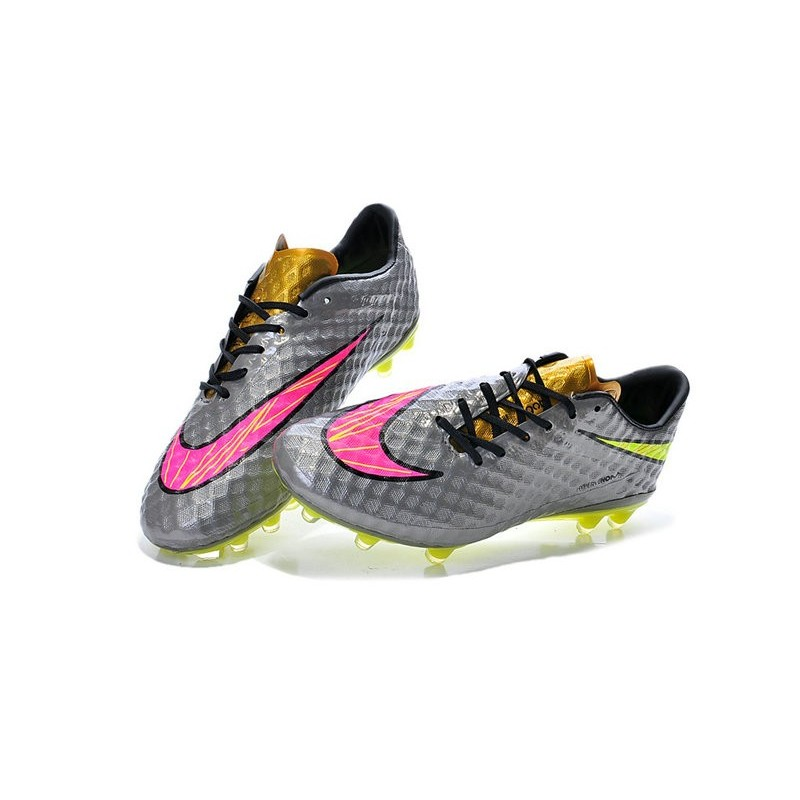 nike soccer shoes orange pink and silver nike football boots