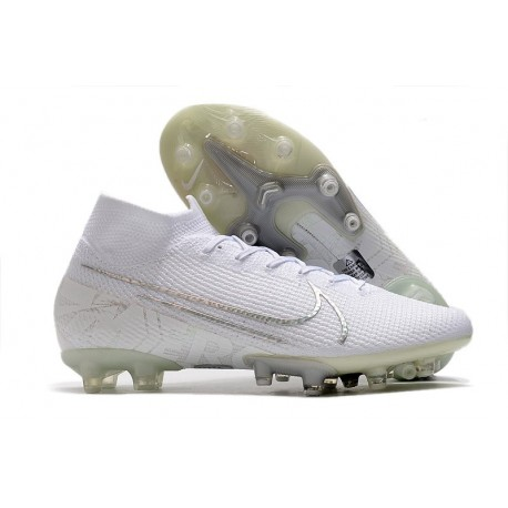 Nike Mercurial Superfly 7 Elite AG-PRO White Silver