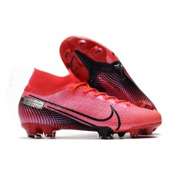 Nike Mercurial Superfly VII Elite FG Laser Crimson Black