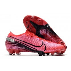 Nike Mercurial Vapor 13 Elite FG Cleats Laser Crimson Black