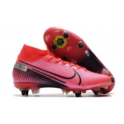 Nike Mercurial Superfly VII Elite SG-PRO Future Lab -Laser Crimson Black