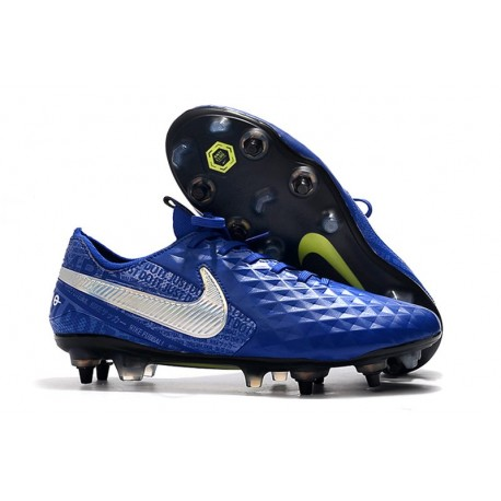 Nike Tiempo Legend 8 Elite SG-Pro K-leather Blue Hero Black