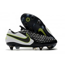 Nike Tiempo Legend 8 Elite SG-Pro K-leather Black White Volt