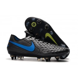 Nike Tiempo Legend 8 Elite SG-Pro K-leather Black Blue