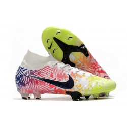 Nike Mercurial Superfly VII Elite FG Neymar White Black Racer Blue Volt