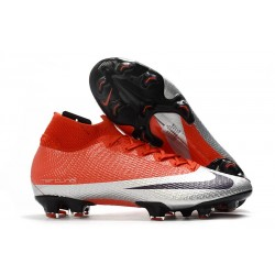 Nike Mercurial Superfly VII Elite FG Future DNA Red Silver Black