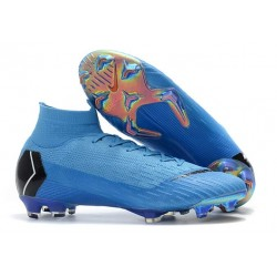 New Nike Mercurial Superfly 6 Elite FG World Cup - Blue