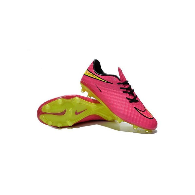 half off 21df0 d9bf8 Mens Football Boots Nike Hypervenom Phantom FG Hyper Pink Volt