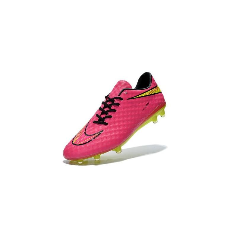 half off beced 938b2 Mens Football Boots Nike Hypervenom Phantom FG Hyper Pink Volt
