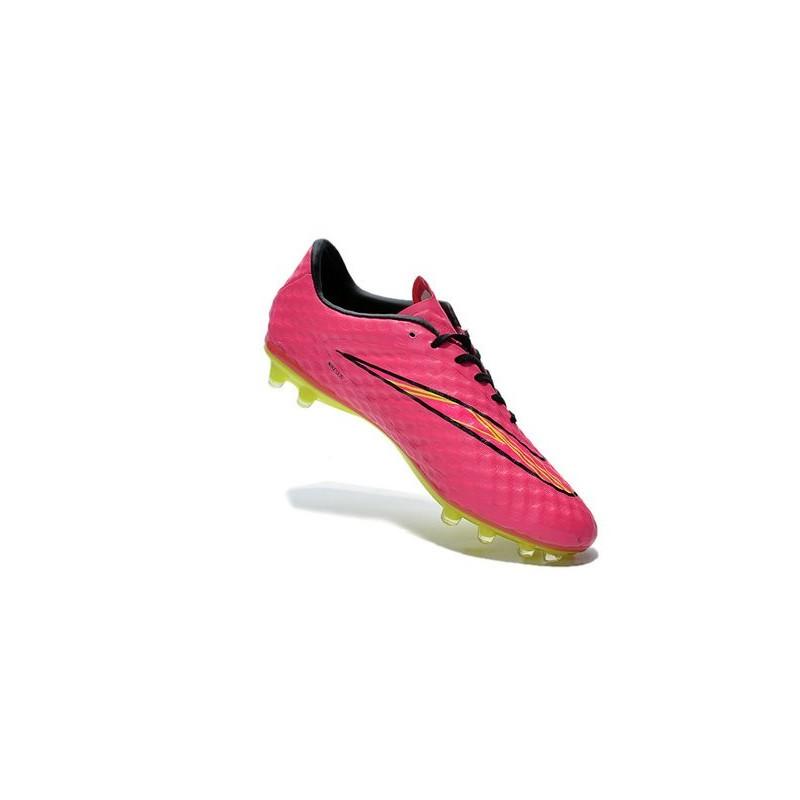 half off 09b10 eac68 Mens Football Boots Nike Hypervenom Phantom FG Hyper Pink Volt