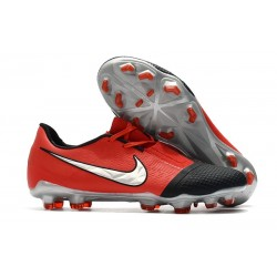 Nike 2020 Phantom Venom Elite FG Laser Crimson Metallic Silver Black