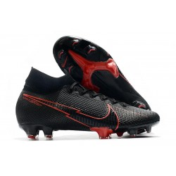 Nike Mercurial Superfly VII Elite FG Black Red