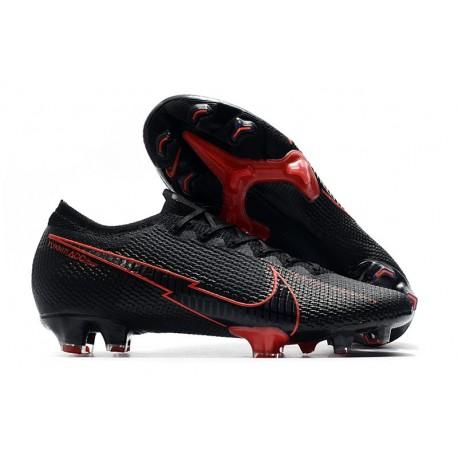 Nike Mercurial Vapor 13 Elite FG Cleats Black Red