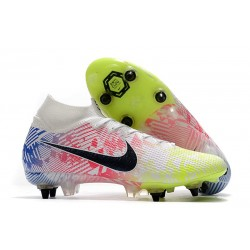 Nike Mercurial Superfly VII Elite SG Neymar White Black Racer Blue Volt