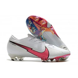 Nike Mercurial Vapor 13 Elite FG Cleats White Flash Crimson