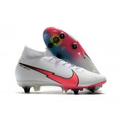Nike Mercurial Superfly 7 Elite SG PRO AC White Crimson Blue