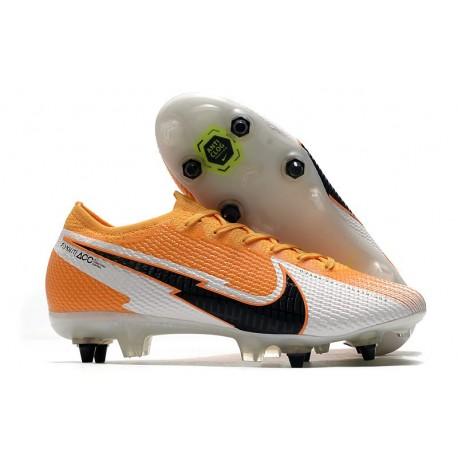 Nike Mercurial Vapor 13 Elite SG Pro Anti-Clog Laser Orange Black White