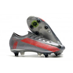 Nike Mercurial Vapor 13 Elite SG Pro Bomber Grey Black Particle Grey