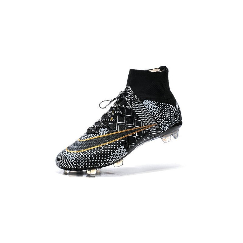 the best attitude new lower prices new high quality Nike Mercurial Superfly IV FG BHM Mens Football Shoes Black ...
