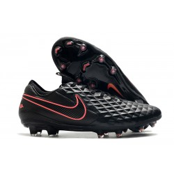 Nike Tiempo Legend 8 FG Kangaroo Leather - Black Pink