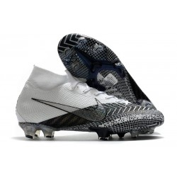Nike Mercurial Superfly VII Elite FG ACC MDS 003 White Black