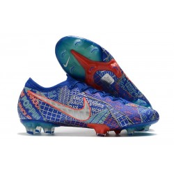 Nike Mercurial Vapor XIII Elite FG SE11 Sancho Blue White Green