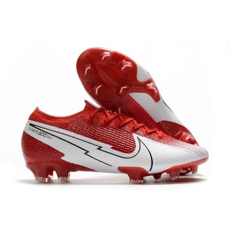 Nike Mercurial Vapor 13 Elite FG ACC Red White