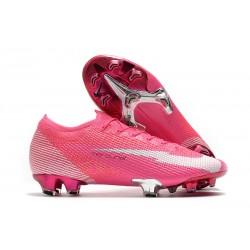 Nike Mercurial Vapor 13 Elite FG ACC X Mbappe Pink Blast White Black