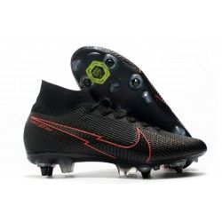 Nike Mercurial Superfly 7 Elite SG PRO AC Black Red