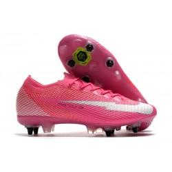 Nike Mercurial Vapor 13 Elite SG Mbappé Rosa - Pink Blast White Black