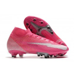 Nike Mercurial Superfly VII Elite AG AC Mbappé Rosa - Pink Blast White