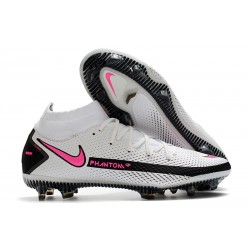 Nike Phantom Generative Texture DF FG White Pink Black