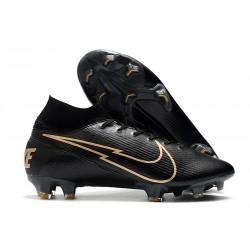 Nike Mercurial Superfly VII Elite FG ACC Black Gold