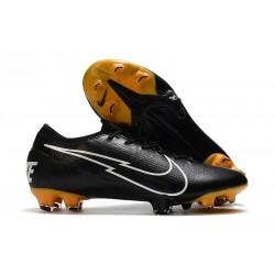 Nike Mercurial Vapor 13 Elite FG ACC Leather Black White
