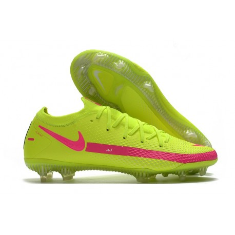 News 2021 Nike Phantom GT Elite FG Brazil Fluo Pink