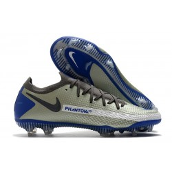 News 2021 Nike Phantom GT Elite FG Grey Blue Black