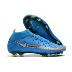 Nike Phantom Generative Texture DF FG Blue Silver