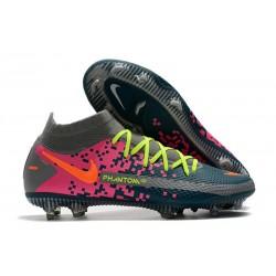 Nike Phantom Generative Texture DF FG Navy Grey Pink