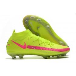 Nike Phantom Generative Texture DF FG Volt Pink