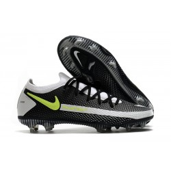 News 2021 Nike Phantom GT Elite FG Black Grey Yellow