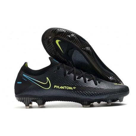 Nike Phantom GT Elite FG Soccer Boots Black Volt