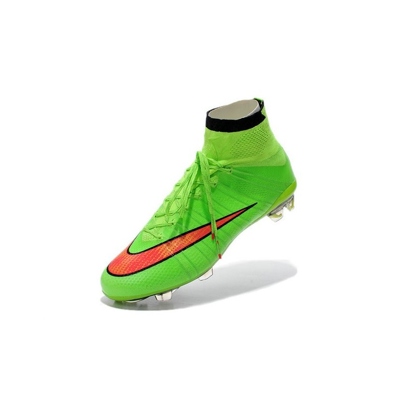site réputé 2afd1 2c46e Nike Mercurial Superfly IV FG Mens Football Shoes Green ...