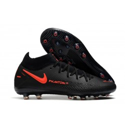 New Nike Phantom GT Elite DF AG-PRO Black ChiliRed SmokeGrey